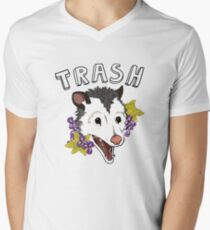 Trash Mens V-Neck T-Shirt