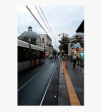 old town street in istanbul. Photographic Print