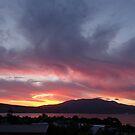 Surreal sunset of Hobart, Tasmania by PC1134