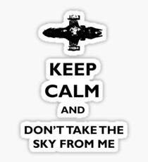 Keep Calm Firefly - Serenity Sticker