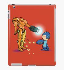 Samus Vs Mega iPad Case/Skin