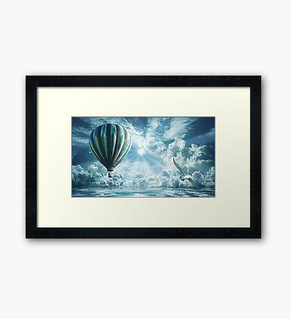 Float Away Framed Print