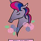 Bisexual unicorn by kbeehivep