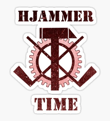 Hjammer Time Sticker