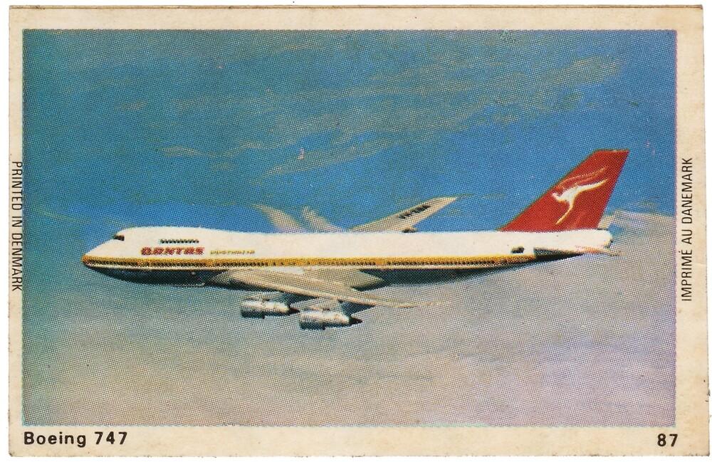 Boeing 747 Qantas by ABK Sema4Media