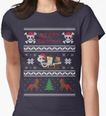 Going MERRY Christmas Women's Fitted T-Shirt