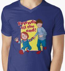 Friends Til the End Men's V-Neck T-Shirt