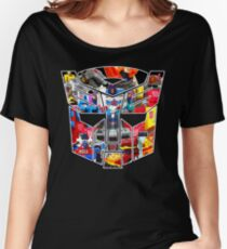 TRANSFORMERS FIGURES!!! Generation 1 Autobot Logo  Women's Relaxed Fit T-Shirt