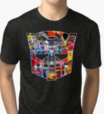 TRANSFORMERS FIGURES!!! Generation 1 Autobot Logo  Tri-blend T-Shirt