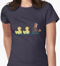 Duck...Duck...Goose! Women's Fitted T-Shirt