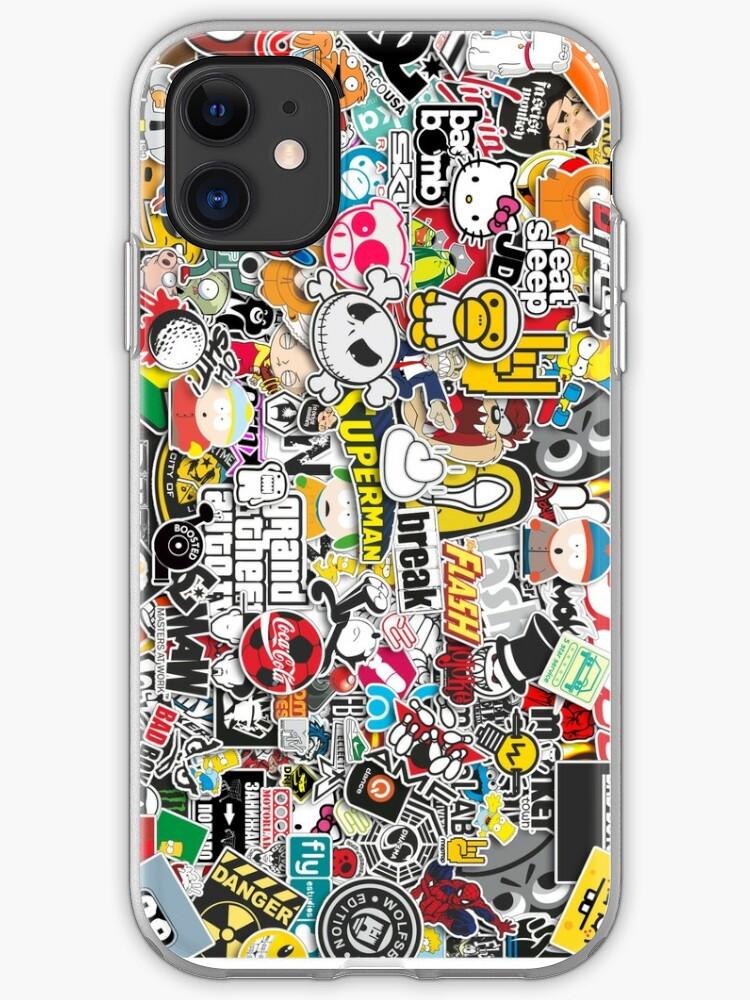 JDM As Fuck Sticker Bomb iphone case