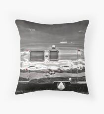 Airstream USA Throw Pillow