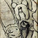 Adventure Time Darkness by Shawn Coss