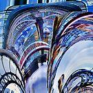 Tyne Bridges Abstract by John Lynch