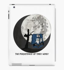 The Persistence of Timey Wimey Grunge - White iPad Case/Skin