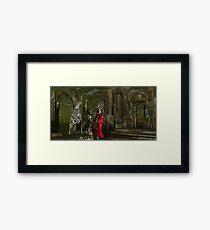 Catphrodite's Red Wind Killing Floor - part 6 Framed Print