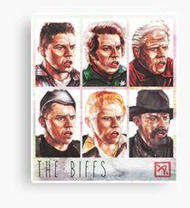 The Biffs Canvas Print