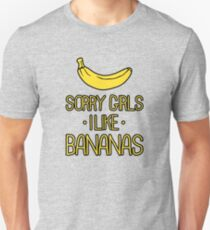 sorry girls i suck dick Unisex T-Shirt