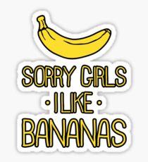 sorry girls i suck dick Sticker