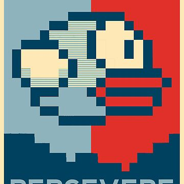 Flappy Bird - Persevere by zchamar
