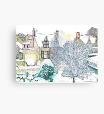 Snow scene number 2 Canvas Print