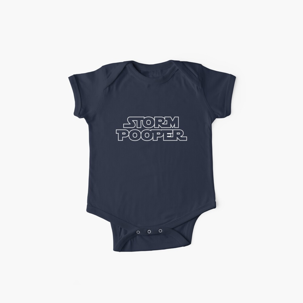 Storm Pooper Baby One-Piece