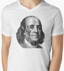 COLD HUNNID  Men's V-Neck T-Shirt