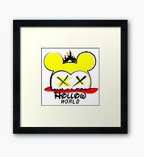 Hollow World Logo  Framed Print