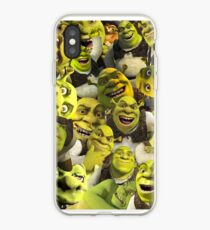Vinilo o funda para iPhone Shrek Collage