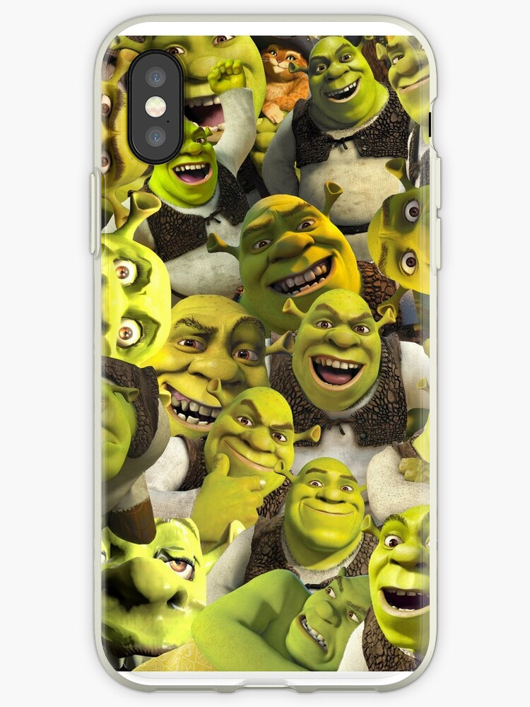 Shrek Collage  by Lucy Lier