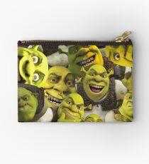 Shrek-Collage Täschchen