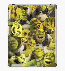 Shrek Collage  iPad Case/Skin