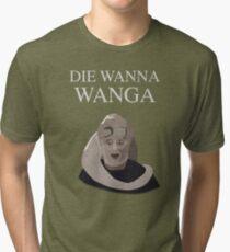 Bib Fortuna: Die Wanna Wanga: White Version Tri-blend T-Shirt