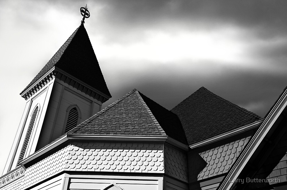 VICTORIAN CHURCH by Larry Butterworth