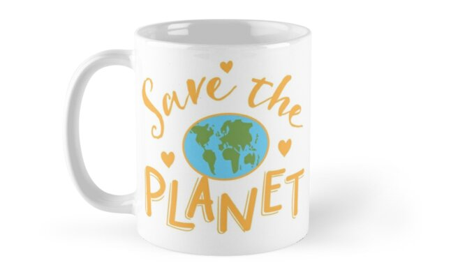 SAVE THE PLANET (hippy edition) by jazzydevil