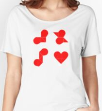 puzzle Women's Relaxed Fit T-Shirt