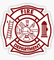 Fire Department Sticker