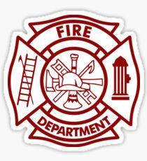 Fire Department Sticker. $2.47. Firefighter Sticker