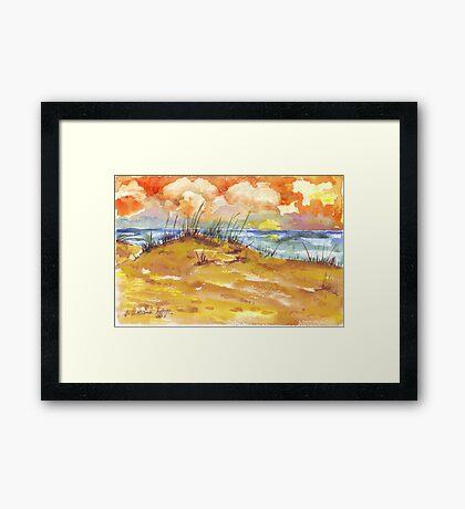 Sunrise over St. Lucia Framed Print