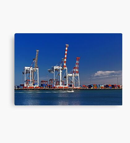 Fremantle Harbour - Western Australia  Canvas Print