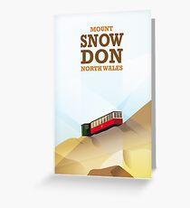 Mount Snowdon, North Wales Greeting Card