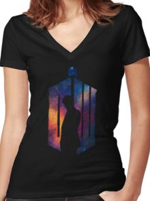 Dr Who - 11th Women's Fitted V-Neck T-Shirt