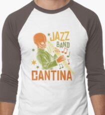 Cantina Jazz Band Men's Baseball ¾ T-Shirt