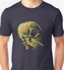 Vincent Van Gogh – Scull with a Cigarette T-Shirt
