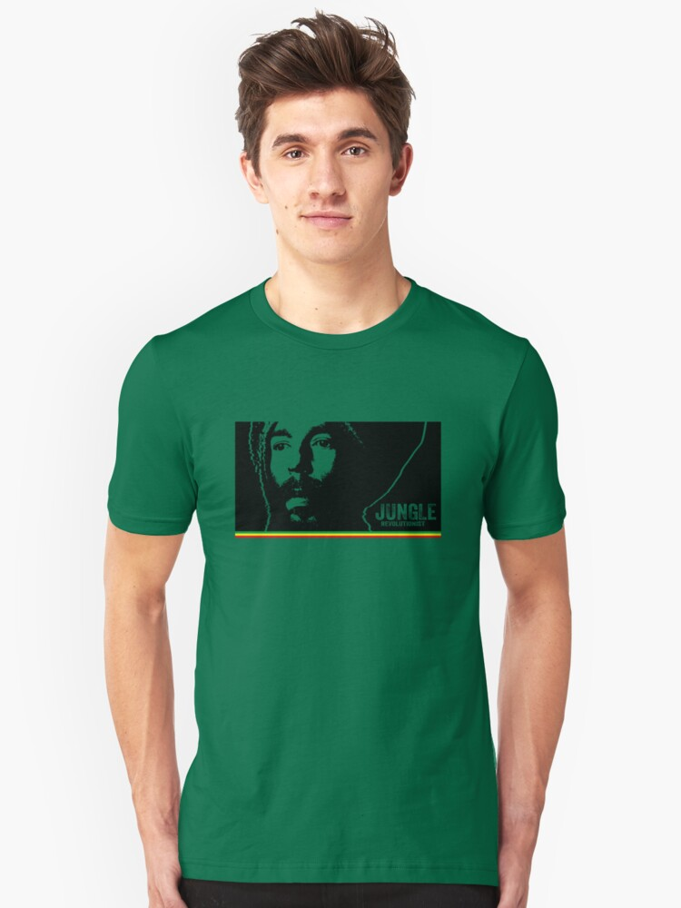 Jungle Revolutionist Unisex T-Shirt Front