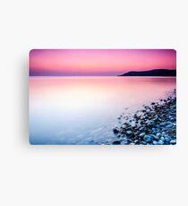 Deganwy Sunset Canvas Print