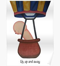 Up, up and away! Poster