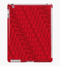 Video Game Controllers - Red iPad Case/Skin