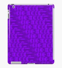 Video Game Controllers - Purple iPad Case/Skin