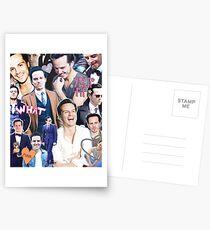 andrew scott collage Postcards